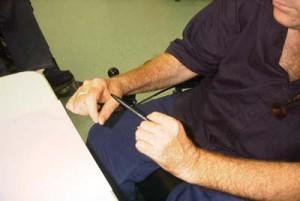 Pen Wielding - Step 1